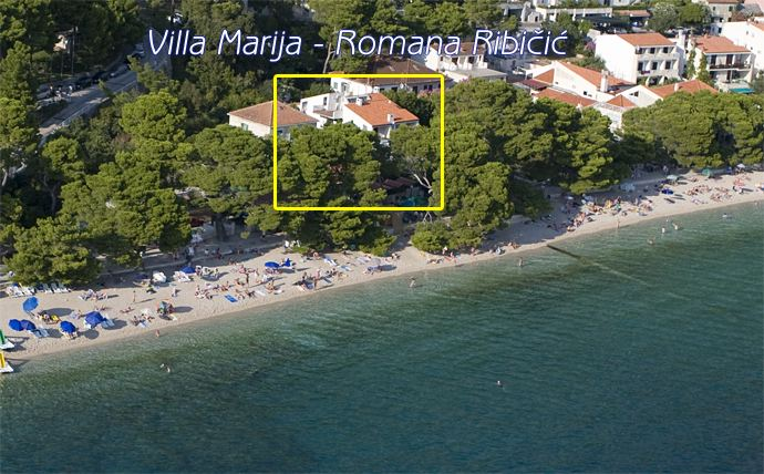 Apartments Villa Marija Brela Soline Romana Ribičić